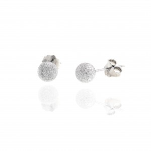 Stud Earrings with Silver 925 in Silver AJ (SKA0047A)