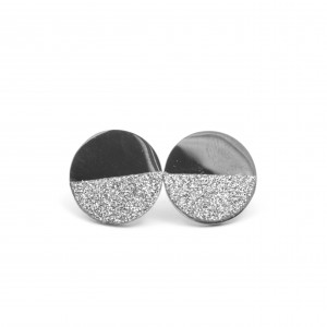 Women's Earrings Steel Necklace in Silver Color AJ (SKK0003A)